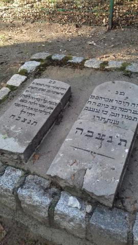 Mazewot (Grabsteine) auf dem jüdischen Friedhof in Boizenburg/Elbe©Heimatmuseum der Stadt Boizenburg/Elbe